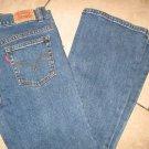 Levis 517 for Girls flare medium wash size 10 1/2 Plus