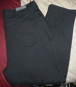 Womens Plus Gloria Vanderbilt Stretch Black Jeans size 20W