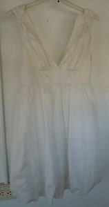 Womens Juniors ivory white Lovestitch dress size Small