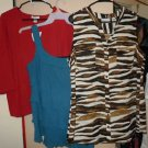 Lot of top shirts blouses womens Plus Size 1X 14/16W