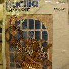 Vintage arts crafts Bucilla needlepoint kit Country Glow #4312