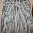 Womens Plus Style & Co long sleeve button front blouse dress shirt size 18W