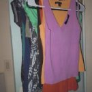 Lot of 11 womens juniors shirts tops size XS Express Banana Republic Ann Taylor