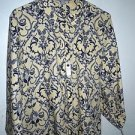 """Womens Foxcroft fitted """"Cornsilk"""" yellow button wrinkle free shirt size 18 NEW"""