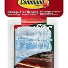 Command 17301CLRAW-ES Outdoor Rope Light Clips with 12-Clips and 16-Strips