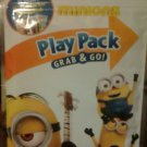 MINIONS PLAY PACK GRAB & GO 4 Crayons 25 Stickers 24 Page Fun Size Coloring Book