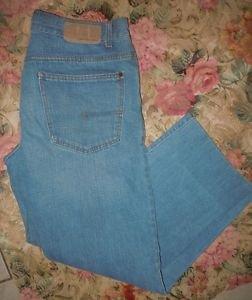 Womens Calvin Klein Jeans light wash straight leg size 32