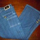 Juniors Old Skool dark wash Capri jeans size 5/6