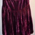 Saks Fifth Avenue rayon/silk burgundy purple skirt size 2