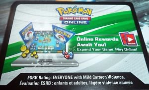 15x Pokemon XY Online Booster Pack Card Codes