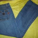 Vintage Miss Me Boot Cut Jeans Size 28 Style JP4173- KAYLA Womens Juniors RARE