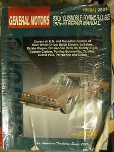 Chilton Repair Manual #28240 for General Motors Buick Olds Pontiac 1975-1990