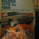 Haynes Auto Repair Manual Mazda 1978-1989 #6981