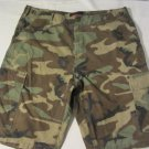 Mens MOC Military Outdoor Clothing Camouflage Shorts Size L