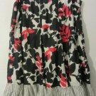 Womens Studio 1940 Elastic Waist Black/Grey/Red/White Skirt Size 18W