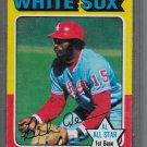"1975 TOPPS DICK ALLEN ""1974 A.L. ALL-STAR"" BASEBALL CARD #400 WHITE SOX"