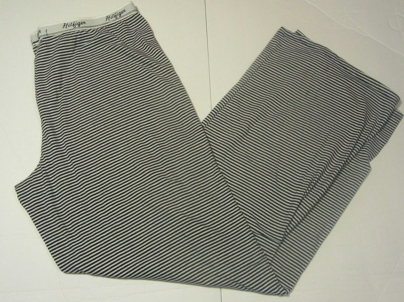 Womens Tommy Hilfiger Navy/White Striped Sleep PJ Pants Size L