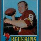 1971 Topps #50 Sonny Jurgensen Football Card