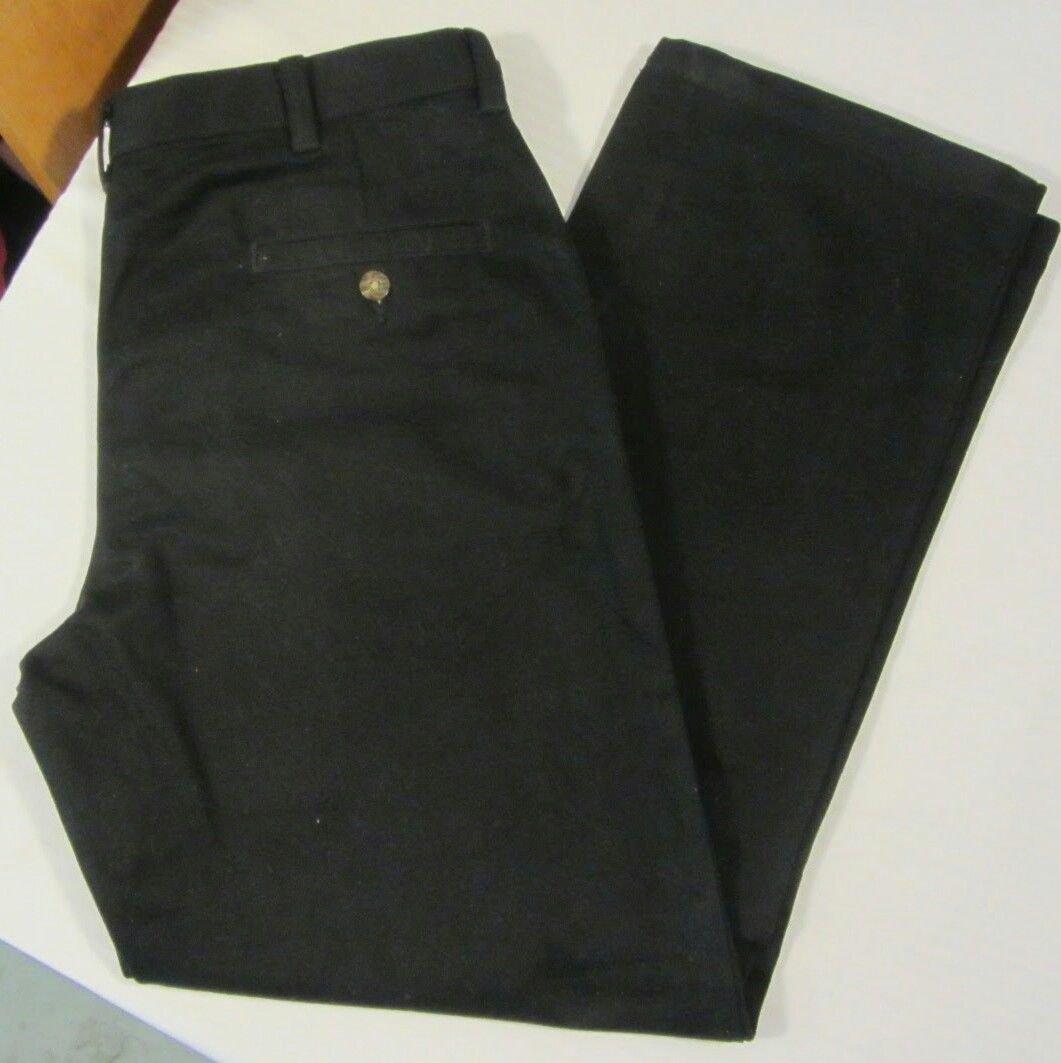 Boys George Black Dress Pants Size 16H
