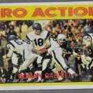 1972Topps Football Card Roman Gabriel   PRO ACTION  # 128