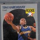1989-90 HOOPS # 113 TIM HARDAWAY ROOKIE