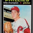1971 Topps #323  Billy Champion  Phillies