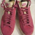 Girls Nike Hi Tops Pink/White Size 7.5