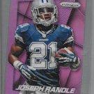 2014 Joseph Randle  Panini Football  Prizm Purple Prizms # 11 Dallas Cowboys