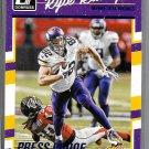 2016 Kyle Rudolph Football  #174 Vikings Press Proofs blue Donruss  tight end
