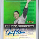 Johnny Podres Auto Dodgers 2004 Topps Finest Moments Brooklyn's Delight 10/4/55