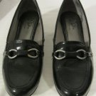 Womens Life Stride Soft Flex HAZEL Black Patent Loafers Size 7
