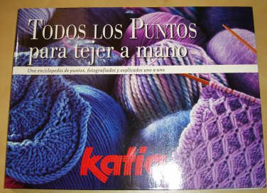 Book, All Knitting Points by hand / In Spanish / ean8435074694794
