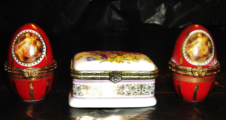 """Three antique porcelain pieces from """"FINE PORCELAIN"""""""
