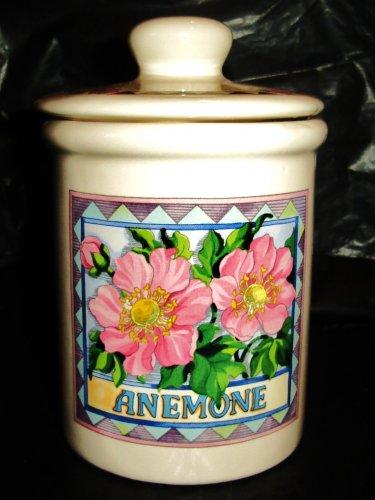 Bottle of pharmacy in ceramic of the Italian designer Giordano di Ponzano