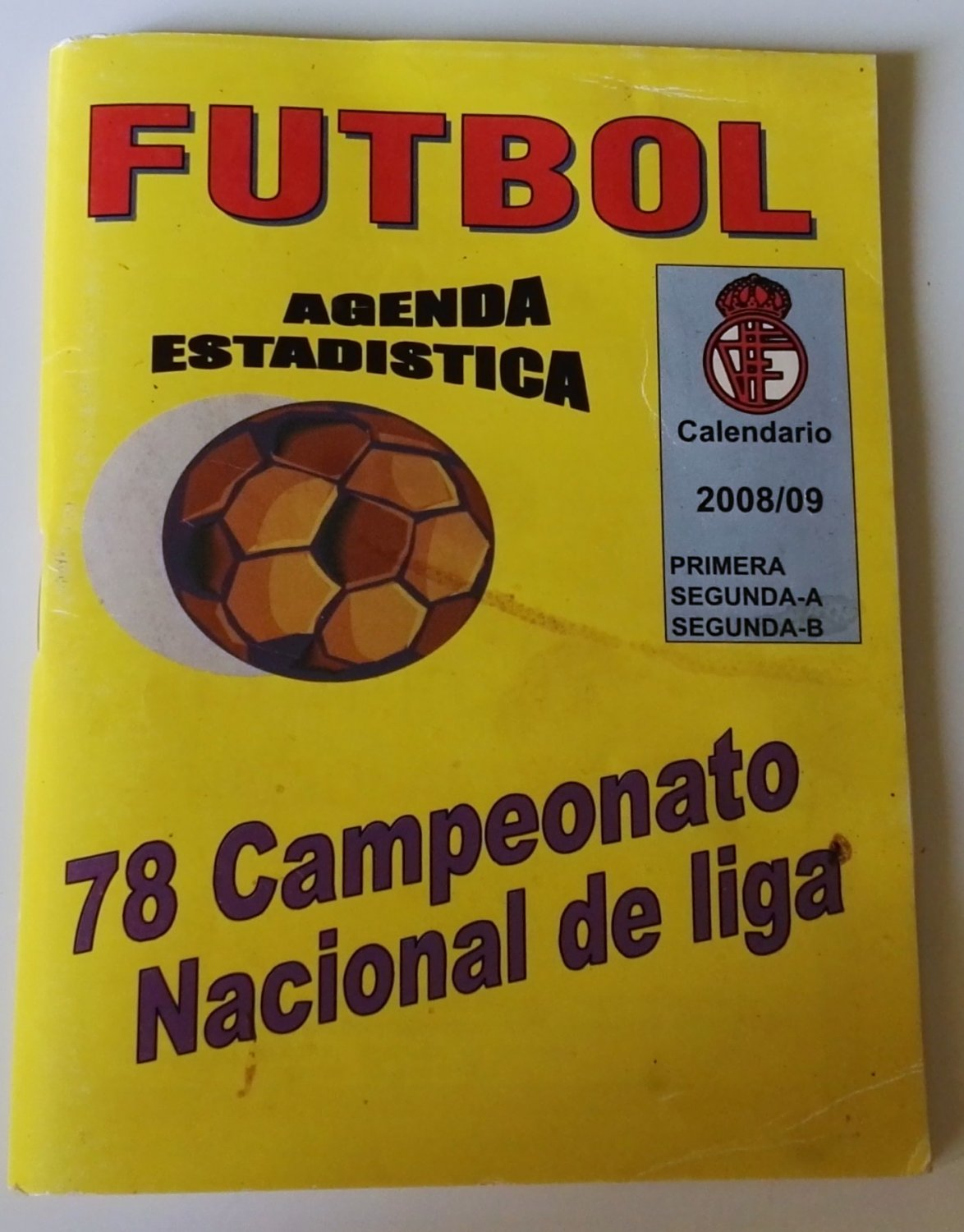 Soccer / Stats schedule 78 national league championship 2008/09
