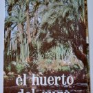 "Triptych advertising ""El Huerto del cura"", national artistic garden - Spain, Elche - 1974"