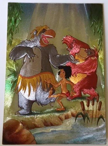 Postcard Disney vintage / The Book of the Jungle - France