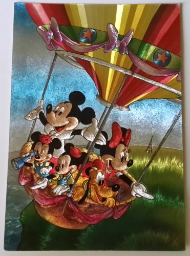 """Disney vintage postcard / Collection """"Les Couleurs Magiques Disney"""" - France"""