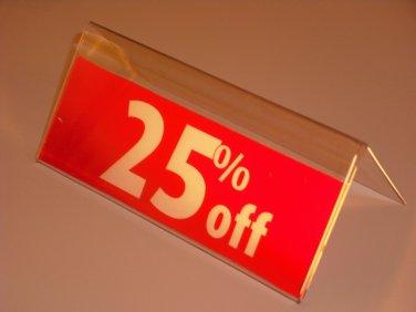 Price Display Holders