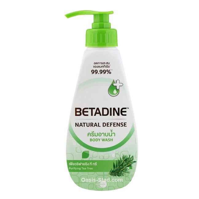 Betadine Natural Defense Purifying Tea Tree Body Wash
