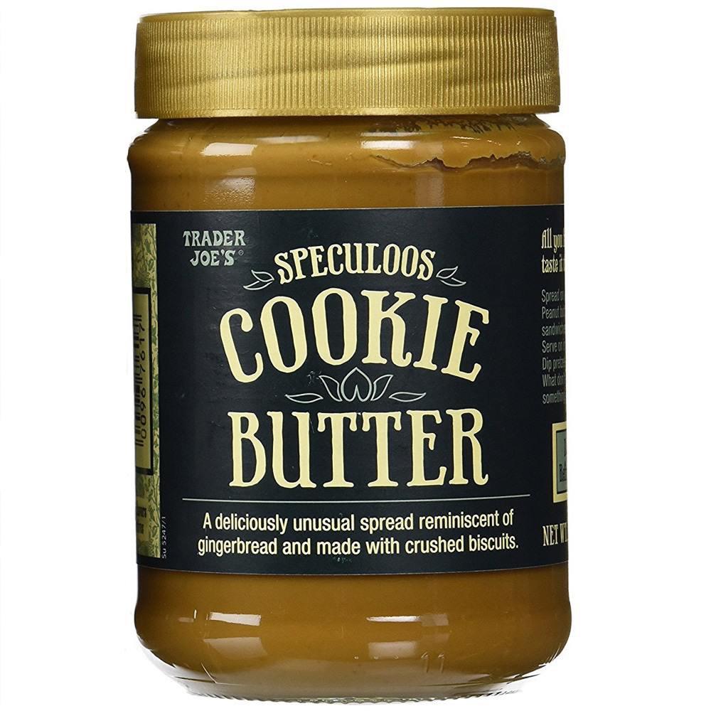 CREAMY TRADER JOE'S Speculoos Cookie Spread 14.1 oz jar butter snack gourmet food