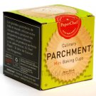2 pc PaperChef Culinary Parchment MINI 90 baking Cups nonstick cupcake liners wrappers supplies
