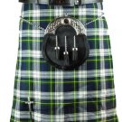 Men's 48 Size Scottish Dress Gordon Tartan Highland Wears Active Men Traditional Sports Kilt