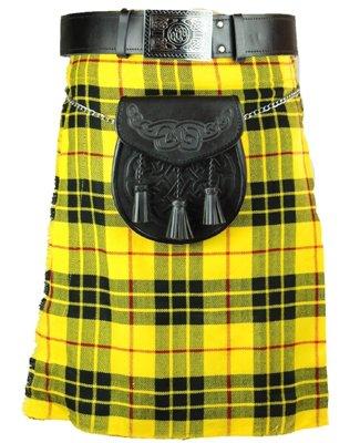 New  Men's 40 Size McLeod of Lewis Scottish Highland Men Traditional Tartan Kilt