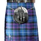 New 46 Size Men's Scottish Highland Traditional Pleated to Set Pride/Honor of Scotland Tartan Kilt