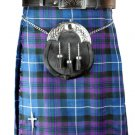 New 58 Size Men's Scottish Highland Traditional Pleated to Set Pride/Honor of Scotland Tartan Kilt
