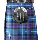 New 60 Size Men's Scottish Highland Traditional Pleated to Set Pride/Honor of Scotland Tartan Kilt