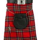 New 42 Size Men's Traditional Royal Stewart Tartan Kilts Scottish Highland Tartan kilt