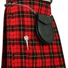 New Traditional Wallace Tartan Kilt of Size 44, Scottish Highland Utility and Sports Kilt