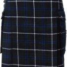 54 Size Scottish Highland Wears Active Men Modern Pocket Douglas Blue Tartan Prime Kilts